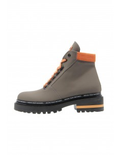 Lead taupe boots track sole