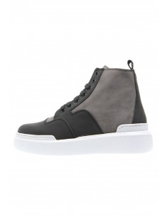 Fusion black/ grey suede...