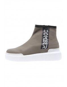 Urban taupe leather sport...