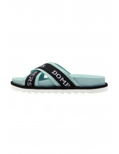 Touch aquamarine sandals