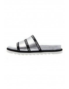 Lookup silver sandals