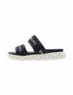 Escape black sandals