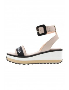 Matrix nude ankle strap...