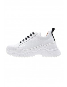 Extreme white sneakers with...