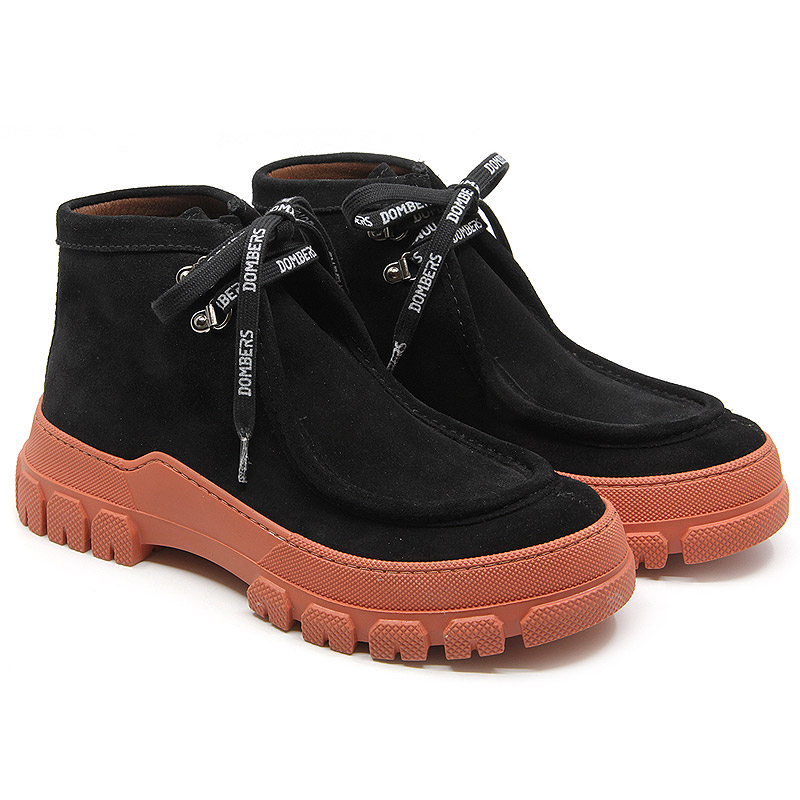 Black sports track ankle boots for women - Essence