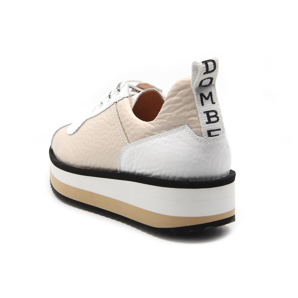 Pulse sneakers bicolor nude / blanco