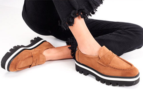 Fashionable and original women's shoes